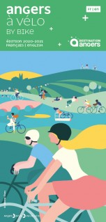 Map Angers and surroundings by bike 2020