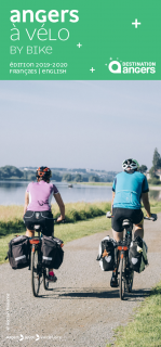 Carte Angers à pied & à vélo