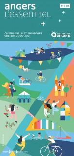 Plan Angers centre-ville et alentours 2020-2021