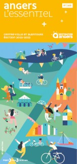 Destination Angers - Touristic plan